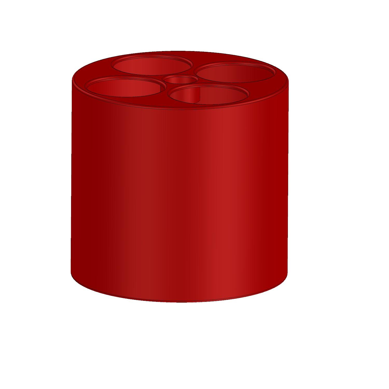 Cylinder Röd
